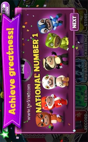 Band Stars Android - بازی جدید اندروید