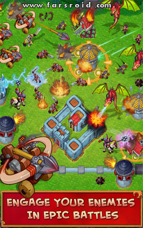 Battle Age: War of Kingdoms Android - بازی اندروید