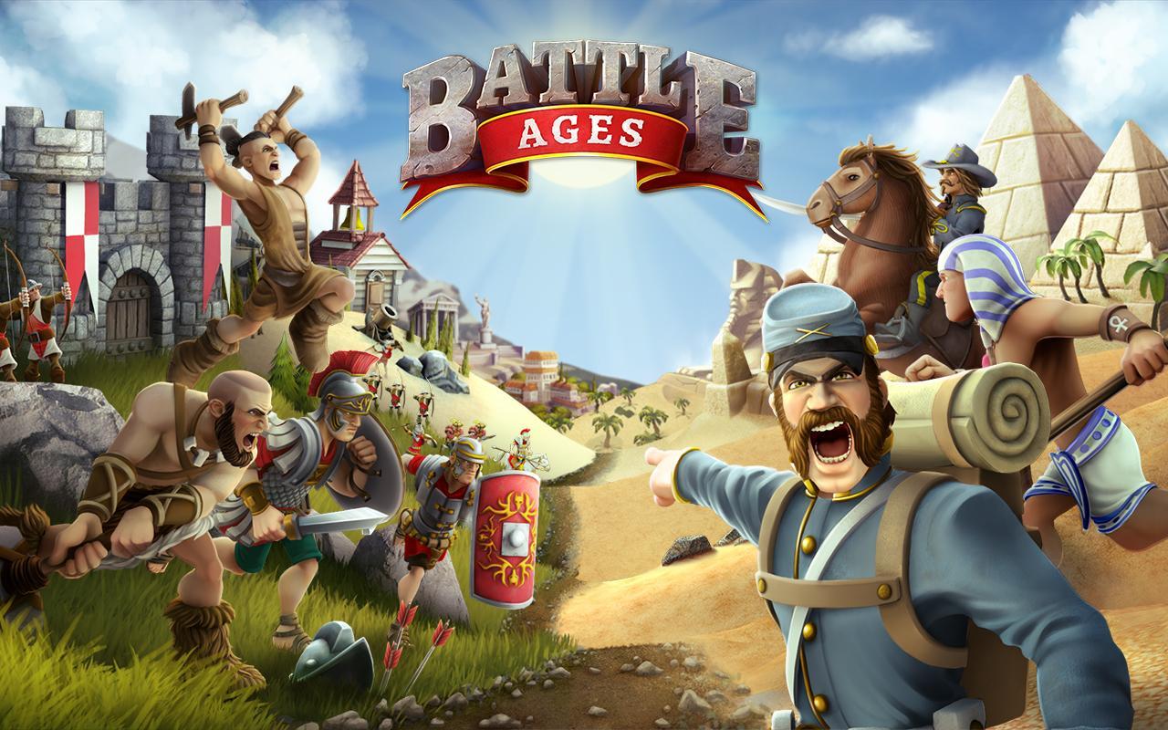 """دانلود Battle Ages - بازی استراتژیک آنلاین """"عصر نبرد"""" اندروید + مود"""