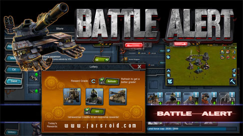 Battle Alert Android - بازی اندروید