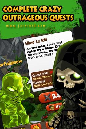 Battle Gems (AdventureQuest) - بازی اندروید