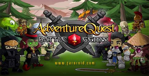 دانلود Battle Gems (AdventureQuest) - بازی نبرد جواهرات اندروید