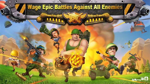 دانلود Battle Glory - بازی استراتژی شکوه نبرد اندروید