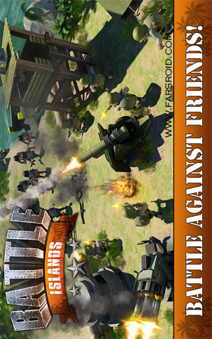 Battle Islands Android - بازی جدید اندروید