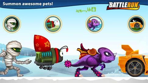 دانلود Battle Run 2.7.2 – بازی دو بعدی دوندگی اندروید + دیتا