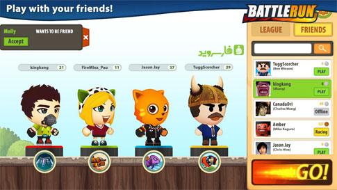 Battle Run Android - بازی جدید اندروید