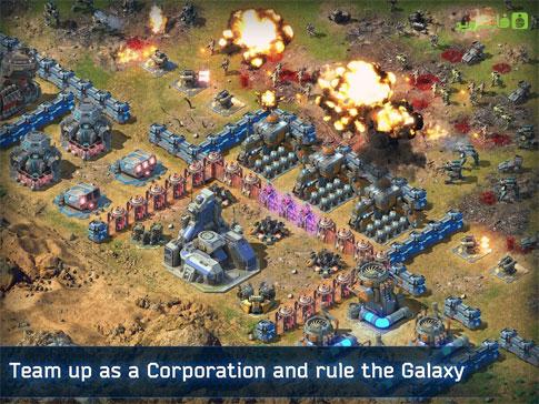 دانلود Battle for the Galaxy 4.1.5 – بازی استراتژی نبرد برای کهکشان اندروید + LE