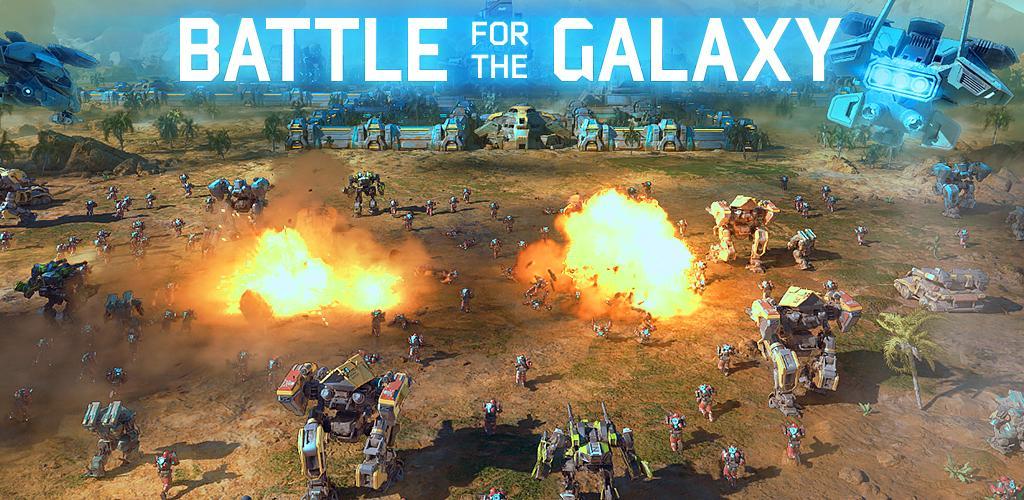 دانلود بازی استراتژیک برای اندروید نبرد کهکشان ها