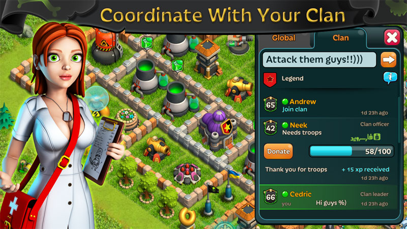 Battle of Zombies: Clans MMO Android - بازی اندروید