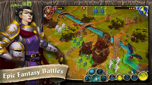 BattleLore: Command Android - بازی جدید اندروید