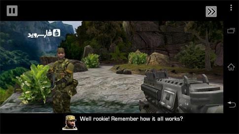 Battlefield: Bad Company 2 Android - بازی بتل فیلد 2 اندروید - اسکرین شات
