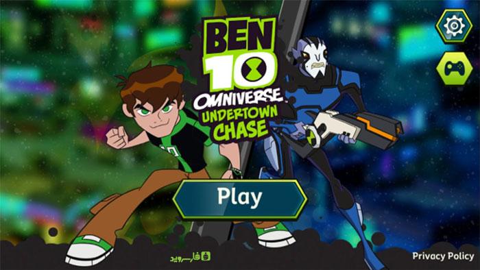 دانلود Ben 10: Undertown Chase - بازی بن تن: تعقیب در شهر اندروید + مود + دیتا