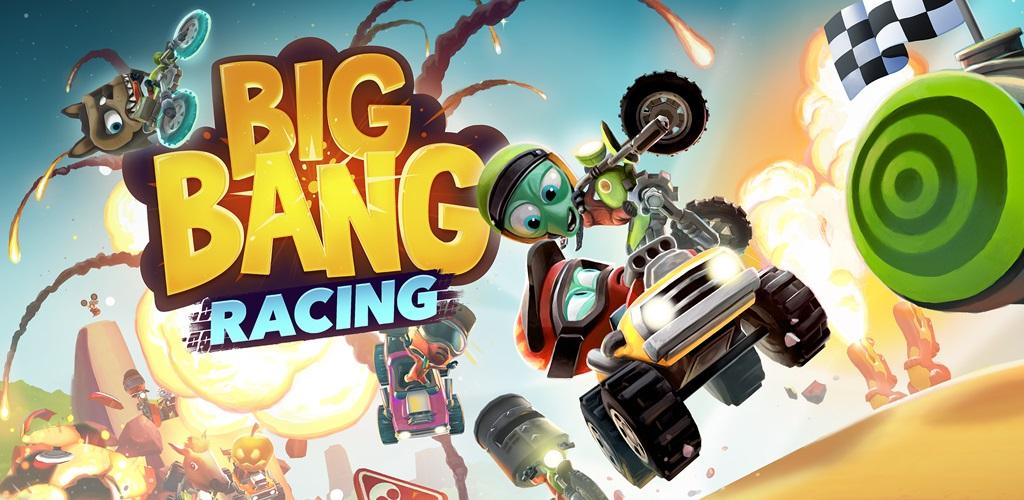 دانلود Big Bang Racing - بازی موتورسواری 2D بیگ بنگ اندروید + مود
