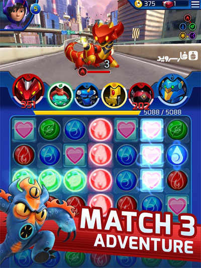 Download Big Hero 6 Bot Fight Android Apk + Obb SD - Google Play