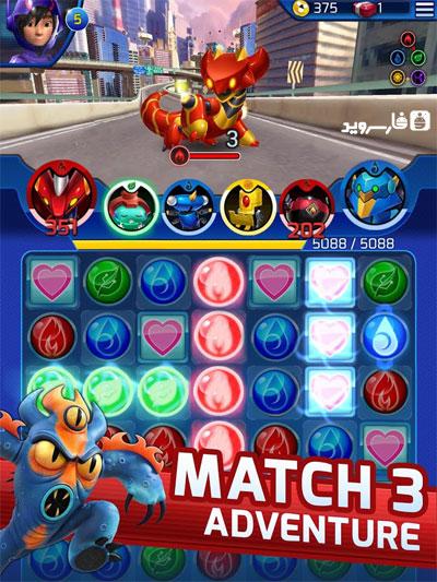 دانلود Big Hero 6 Bot Fight 2.7.0 – بازی نبرد ربات ها اندروید + دیتا