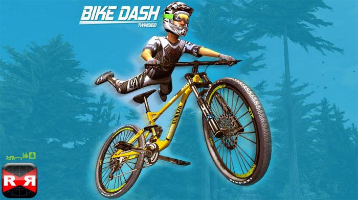 دانلود Bike Dash - بازی دوچرخه سواری کوهستان اندروید + مود + دیتا