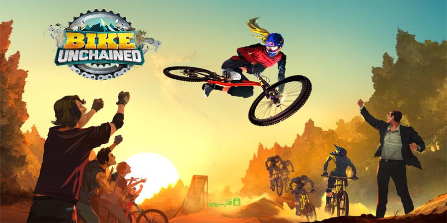 Bike Unchained Cover دانلود Bike Unchained 1.13 – بازی دوچرخه سواری فوق العاده آندروید + مود + دیتا