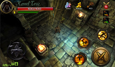 Black Warrior Android - بازی جدید اندروید