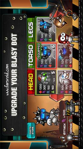 دانلود Blastron 2.1.2 – بازی سرگرم کننده ی نبرد روبات ها اندروید + دیتا