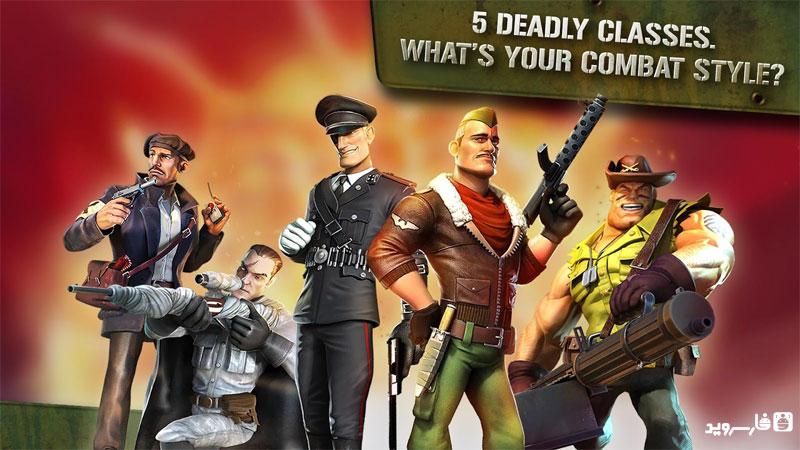Blitz Brigade - Online FPS fun - بازی انلاین اندروید