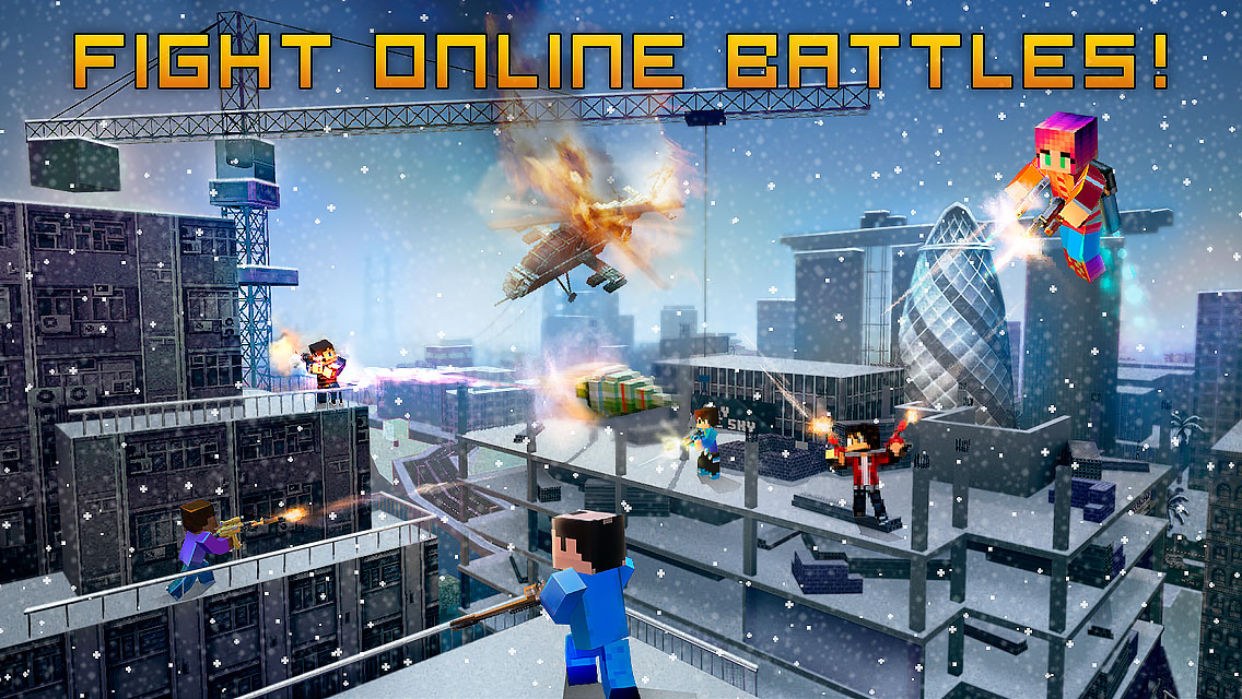 Download Block City Wars Android Games Apk + Obb SD - Official Google Play