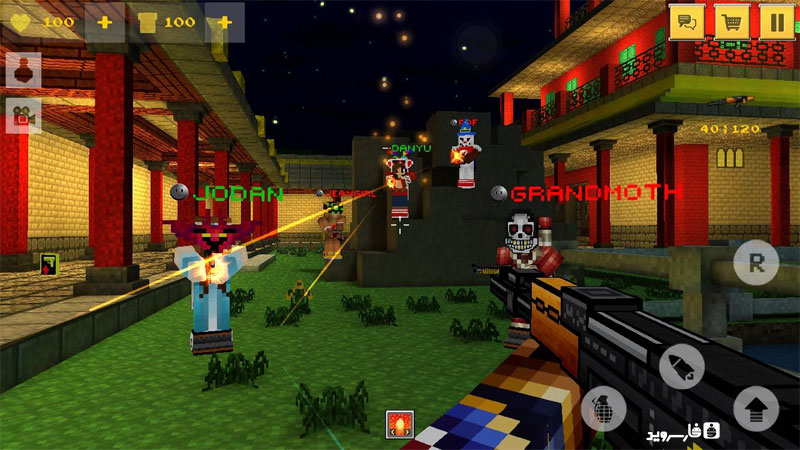 Download Block Force - Cops N Robbers Android Apk + Obb SD - Google Play