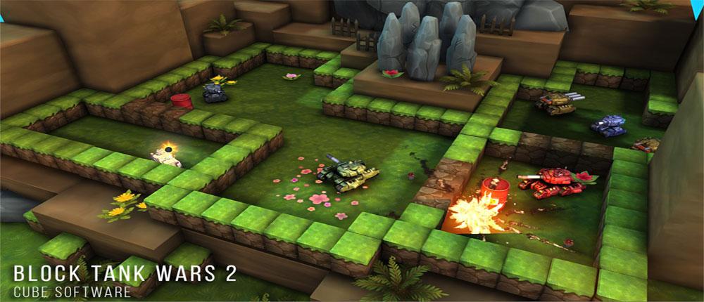 دانلود Block Tank Wars 2 - بازی عالی نبرد تانک ها اندروید + مود