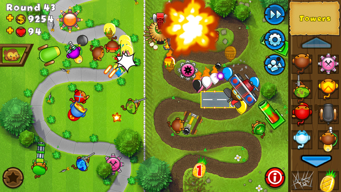Bloons TD 5 Android Game بازی اندروید