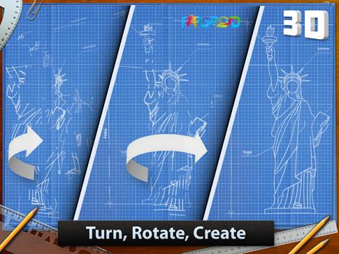 دانلود Blueprint 3D 1.0.4 – بازی طرح های سه بعدی اندروید + دیتا