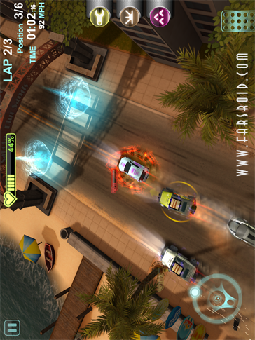 Blur Overdrive Android بازی اندروید