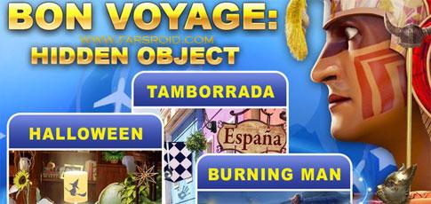دانلود Bon Voyage: Hidden Object Game - بازی سفر بن اندروید + دیتا