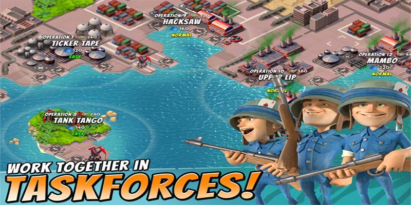 Boom Beach - بازی جدید اندروید