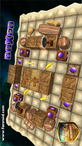 Boxed! - 3D Puzzle Android بازی اندروید