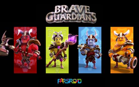 دانلود Brave Guardians - بازی نگهبان شجاع اندروید + دیتا