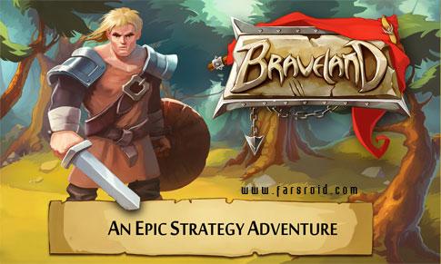 دانلود Braveland - بازی استراتژی سرزمین شجاعت اندروید + دیتا