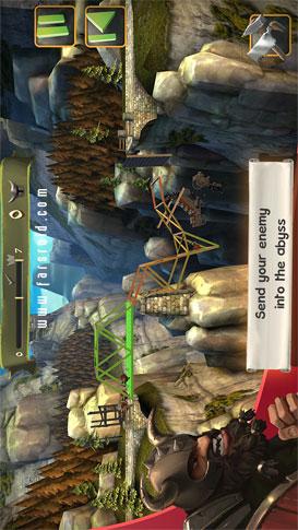 Bridge Constructor Medieval  - بازی رایگان اندروید