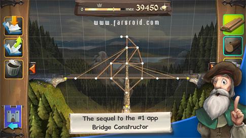 دانلود Bridge Constructor Medieval 1.0 - بازی پل سازی اندروید