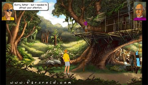 Broken Sword 2 Smoking Mirror Android - بازی فکری و پازلی اندروید