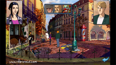 Broken Sword : Director's Cut Android - بازی اندروید