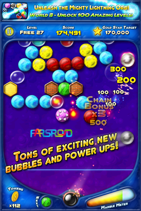Bubble Bust! Android بازی اندروید