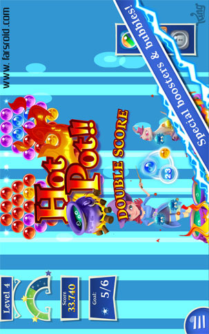 Bubble Witch 2 Saga Android - بازی اندروید