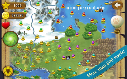 Bubble Witch Saga - بازی اندروید