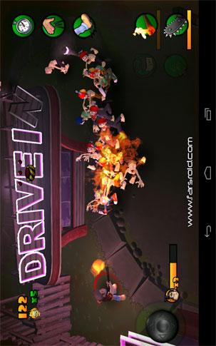 Burn Zombie Burn Android - بازی اندروید