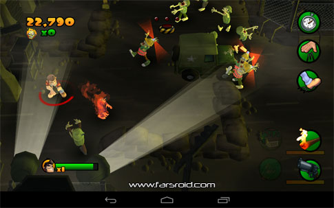 Download Burn Zombie Burn Android Apk + Obb - New FREE