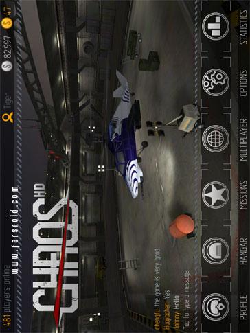 C.H.A.O.S Multiplayer Air War - بازی اکشن اندروید
