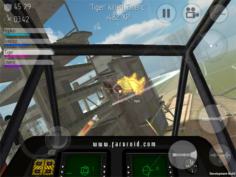 C.H.A.O.S Multiplayer Air War Android - بازی جدید اندروید