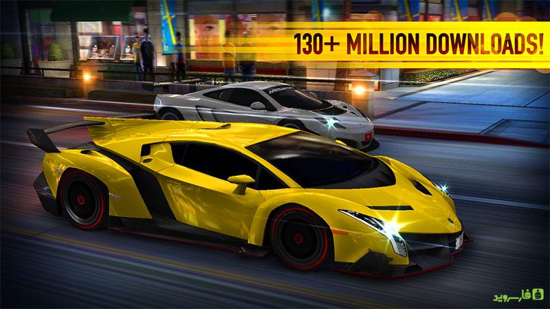 دانلود بازی CSR Racing 5.0.1 – مسابقات اتومبیلرانی بی نظیر اندروید + مود + مگامود + دیتا