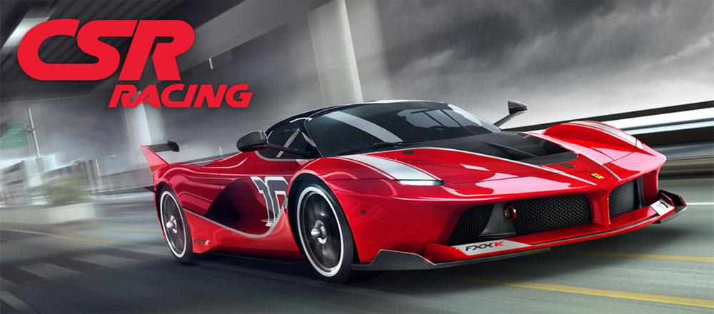 دانلود بازی CSR Racing - مسابقات اتومبیل رانی بی نظیر !