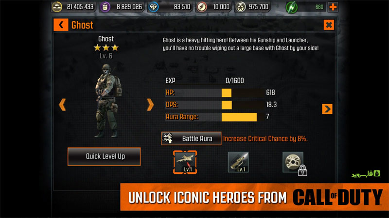 Download Call of Duty®: Heroes Android Apk + Obb SD - Google Play