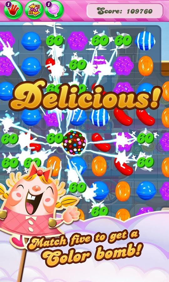 Candy Crush Saga Android - بازی جدید اندروید